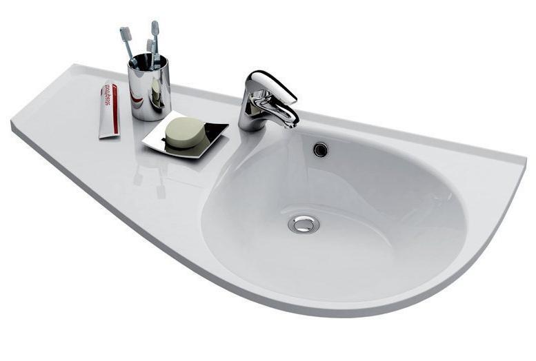 Раковина для ванной подвесная Ravak коллекция Avocado Comfort белая XJ9L1100000