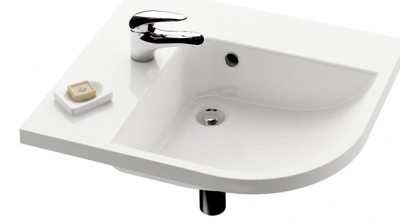 Раковина для ванной подвесная Ravak коллекция Be happy белая XJAL1100000