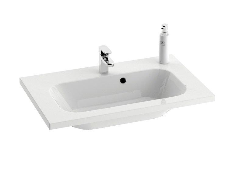 Раковина для ванной подвесная Ravak коллекция Chrome белая XJG01180000