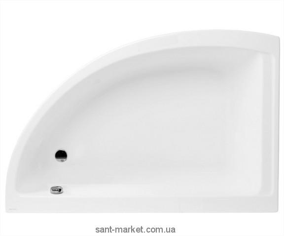 Ванна акриловая угловая PoolSpa коллекция Klio Asym 140х80х57 R PWAA5..ZS000000