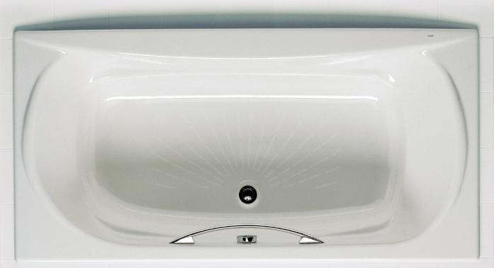 ROCA AKIRA Чугунная прямоугольная ванна 170*85см 23257000R-A