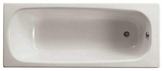 ROCA CONTINENTAL Чугунная прямоугольная ванна с ножками 160*70см 212912001-B