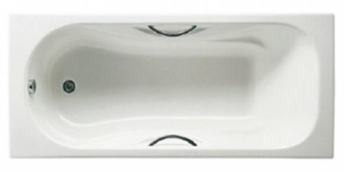 ROCA MALIBU Прямоугольная чугунная ванна 160*75 231070001-A