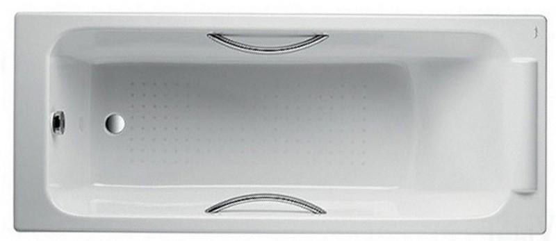 Jacob Delafon Parallel ванна чугунная 170*70 с отверстием для ручек E2948-00