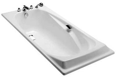 Jacob Delafon Repos ванна чугунная 180*85 с отверстиями для ручек E2903-00