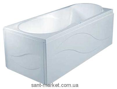 Ванна акриловая прямоугольная PoolSpa коллекция Muza 160х75х61 PWPL710ZS000000 + рама