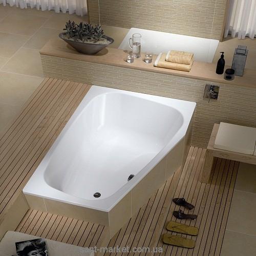 Ванна стальная встраиваемая Kaldewei Plaza Duo асимметричная 180x120 left 237200010001
