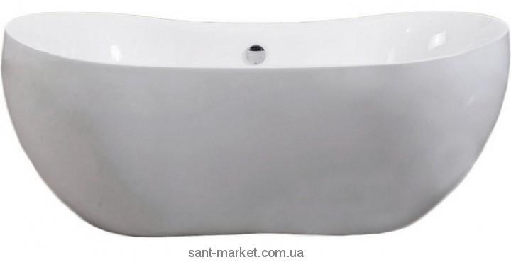 Фото Ванны, Акриловые ванны Ванна акриловая овальная Volle 170х80х65 12-22-116