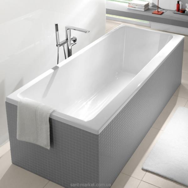 Фото Ванны, Акриловые ванны Ванна акриловая прямоугольная Villeroy&Boch коллекция Subway 180x80х48 UBA180SUB2V-01