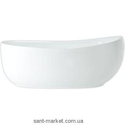 Ванна акриловая овальная PoolSpa коллекция Future 180х85х39 PWKPF10ZP0C0000