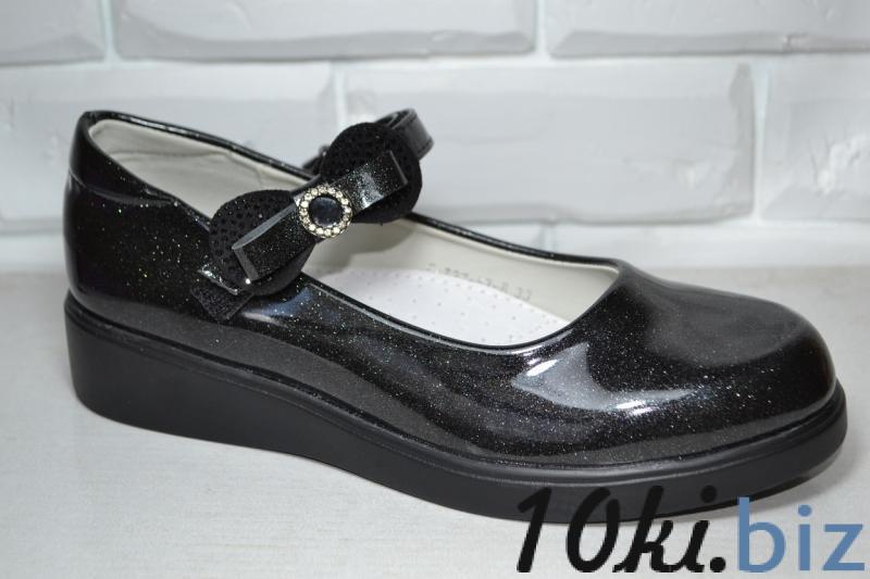 Туфли Tom.m черные с блестками для девочки 33р-38р 35 Туфли для девочек в ТЦ Атриум Харьков