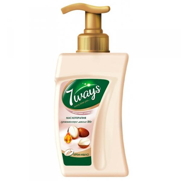 Мыло жидкое 7 Ways 250 мл, уникальная формула с тремя ароматами, см. подробнее