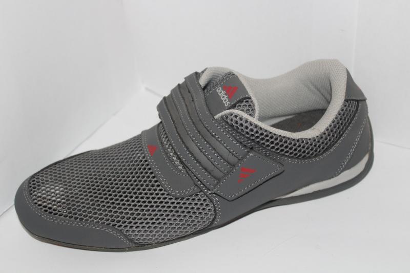 Мужские кроссовки Adidas на липучке сетка для повседневной носки оригинал