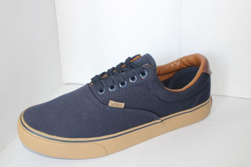 Фото Мужские мокасины и летние кроссовки Мужские мокасины синего цвета на шнуровке на шнурке для повседневной носки   Синий, 40-45