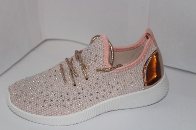 Женские мокасины на шнуровке розового цвета на шнурках