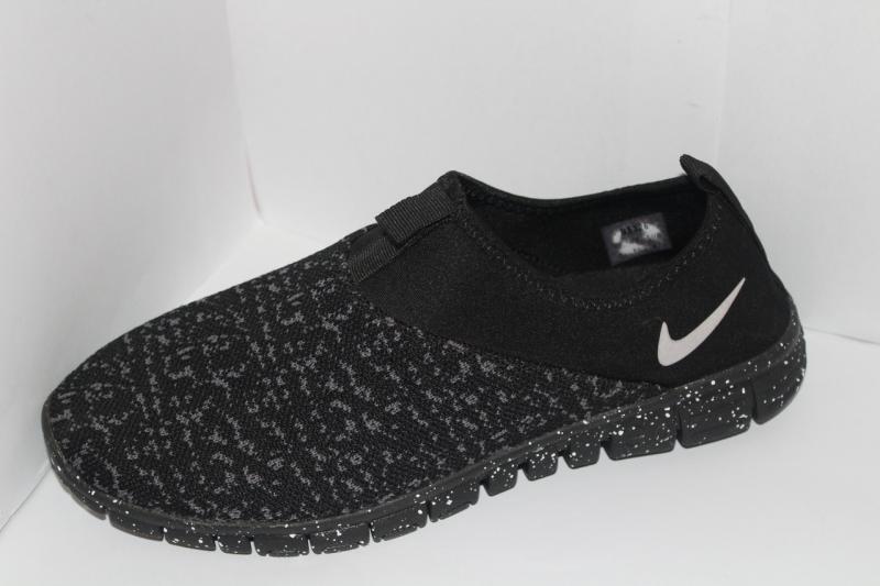 Фото Осень 2017 -Весна 2018 (мужские кроссовки на шнуровке) Мужские кроссовки Nike на шнуровке для повседневной носки на шнурке со вставками сетка макасины