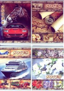Фото Канцтовары, Блокноты, ежедневники Блокнот у вигляді зошита А6 (асорті)