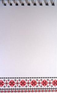 Фото Канцтовары, Блокноты, ежедневники Блокнот на пружині