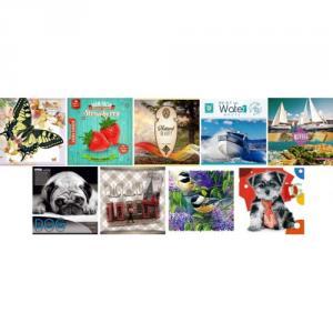 Фото Канцтовары, Блокноты, ежедневники Блокнот (інтегр. обкл. в асортименті, клітинка, 80 аркушів, 13,1х13,1 см)