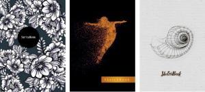 Фото Канцтовары, Блокноты, ежедневники Скетчбук на гумці (21х14,5 см, білий нелінований блок 120г/м2, 80 ст., інтегр. обкл. в асортименті)