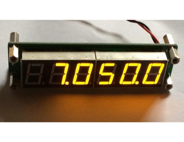 Частотомер , шкала трансивера 0.1 МГц - 65 МГц