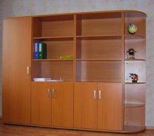 Фото Мебель для дома и офиса Шкаф-стеллаж офисный для документов под заказ от производителя РБ. Недорого