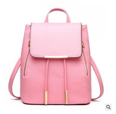 """Рюкзак светло-розовый """"Удачный"""""""