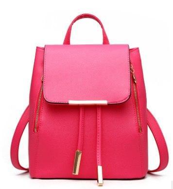 """Рюкзак ярко-розовый """"Удачный"""""""