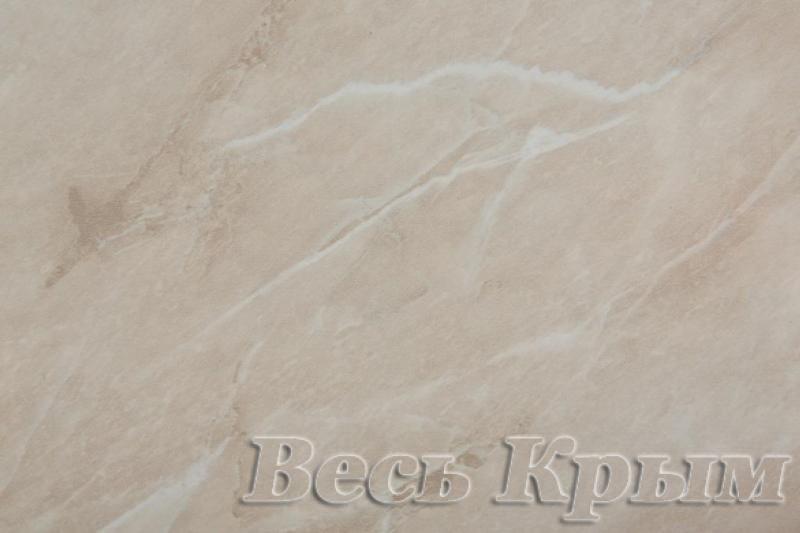 ТРОЯ - Столешница полотно 3000*600*26мм, Мрамор бежевый светлый (1кат) Столешницы и комплектующие в Крыму