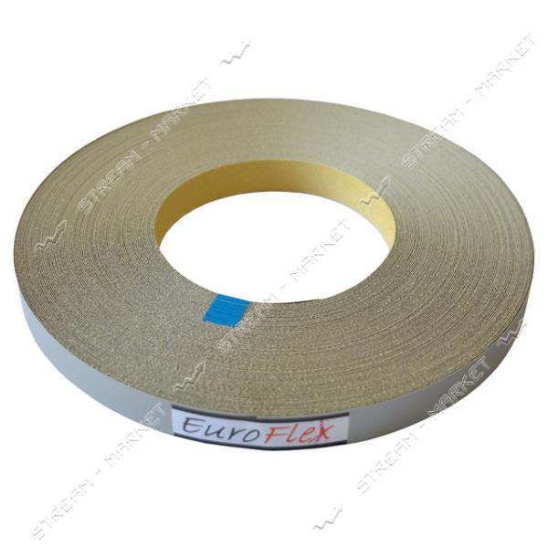Кромка бумажная(меламиновая) с клеем 22мм Металлик