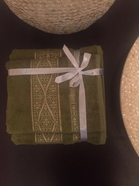 Полотенца бамбуковая