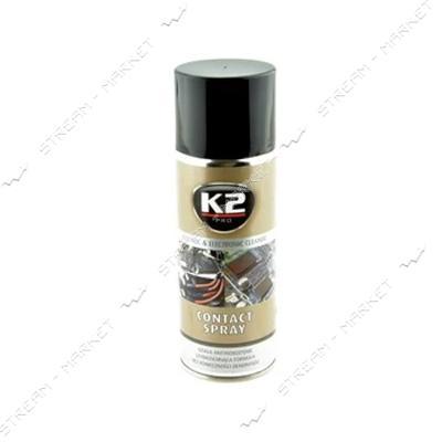 K2 K20006 Очиститель электрических контактов 400мл CONTACT SPRAY