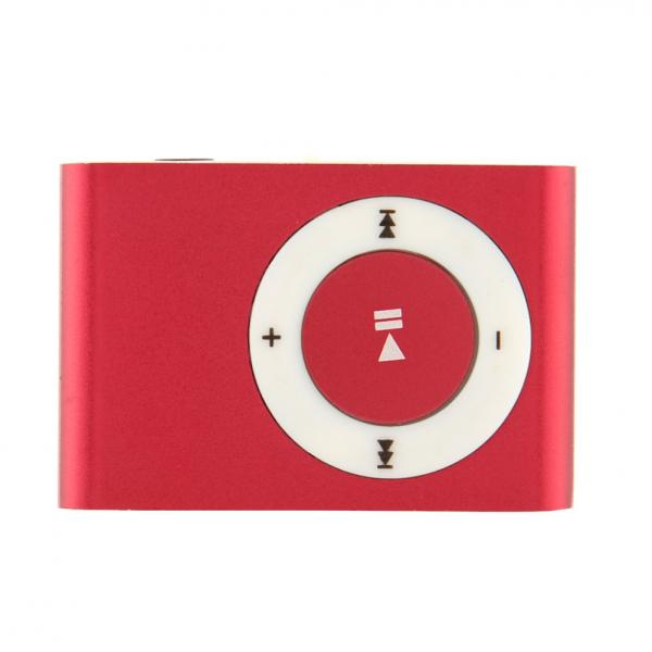 MP3 Player Metal Red