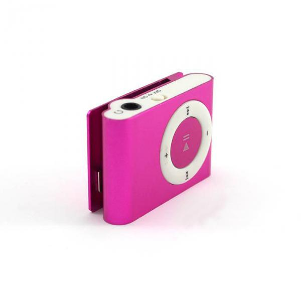 MP3 Player Metal Pink