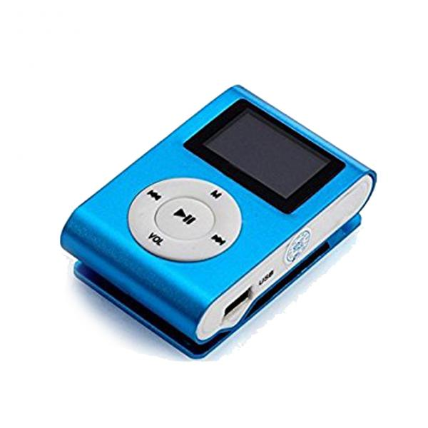 MP3 Player Metal + FM + LCD Blue