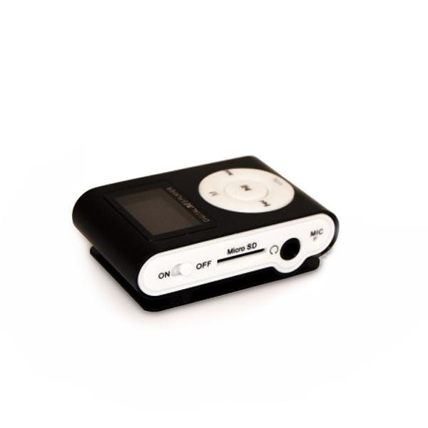 MP3 Player Metal + FM + LCD Black