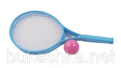 Детский набор для игры в теннис ТехноК (синий)