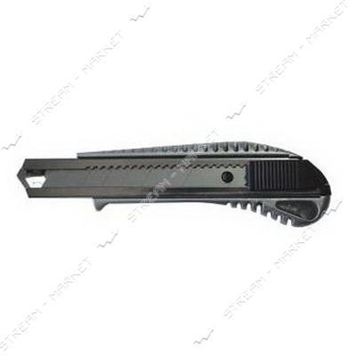 SIGMA 8211021 (580098) нож с отлам. лезв. 18мм усиленный Al сплав
