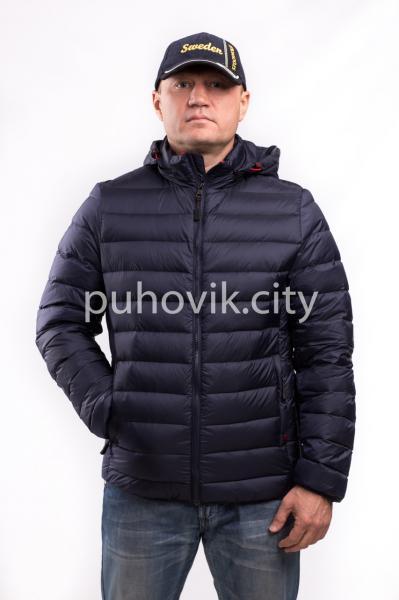 Мужская куртка Zerofrozen D0005 Синий, XL