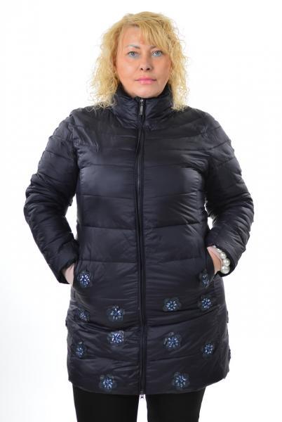 Куртка Monte Cervino 733, Италия, большие размеры,  3XL- 5XL синий, 5XL