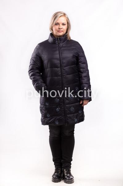 Элегантная демисезонная куртка Monte Cervino 733-В, Италия 5XL