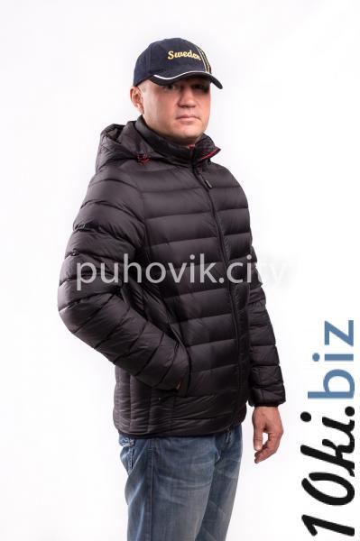 Мужская куртка Zerofrozen D0005 S, Черный Пуховики мужские в Украине