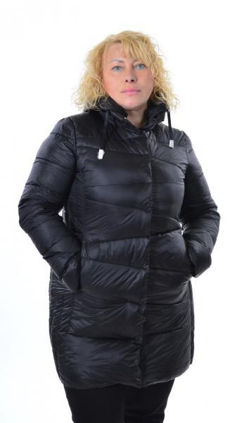 Куртка Monte Cervino 7337, Италия, большие размеры,  3XL- 5XL черный, 2XL
