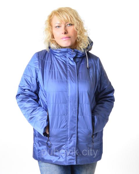 Стильная демисезонная куртка Mishele 516 - Большие размеры