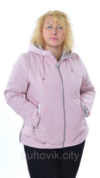 Демисезонная куртка Mishele 307 - Большие размеры 50