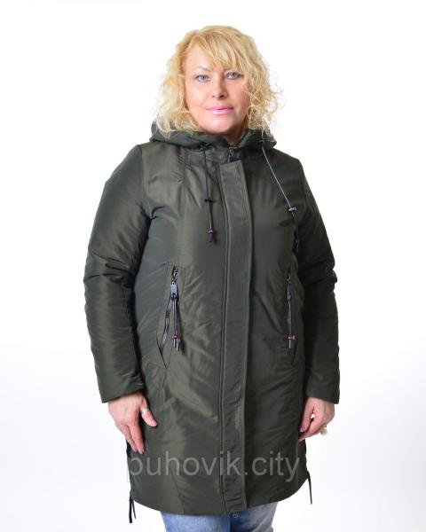 Удлиненная демисезонная куртка Mishele 553
