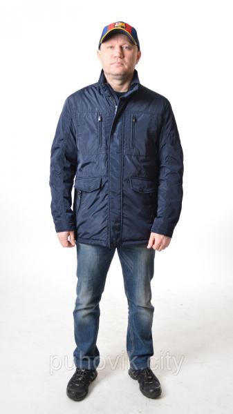 Удлиненная мужская куртка ветровка Kings wind 7K650
