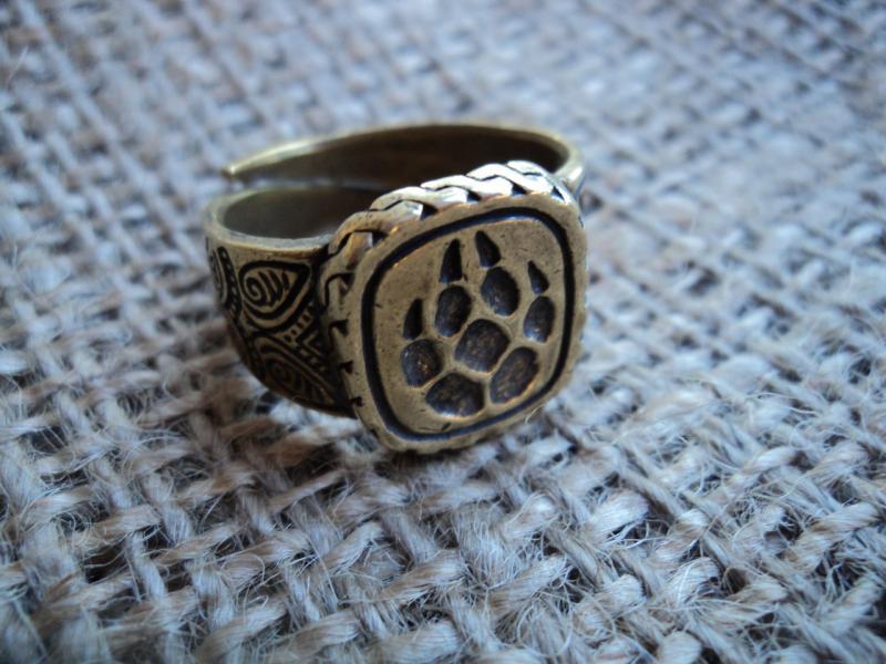 Кольцо-оберег Печать Велеса
