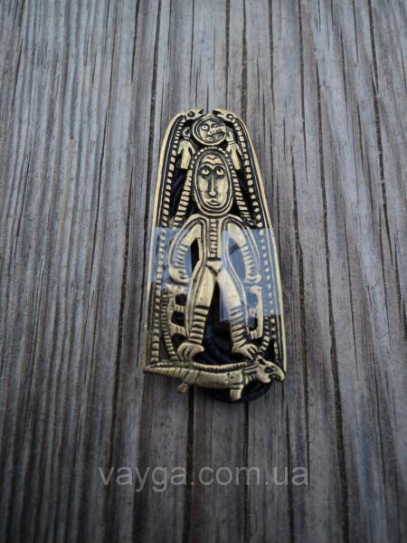 Шаманский подвес Богиня на ящере