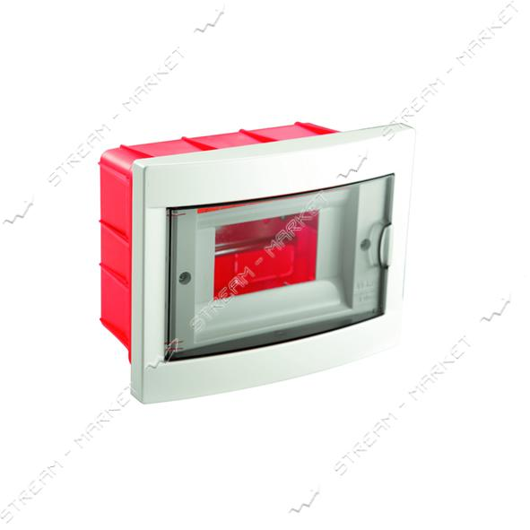 Щиток электрический VIKO 90912006 на 6 автомата со стеклом внутренний
